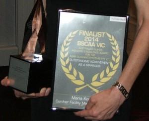 BSCAA vic award 2014